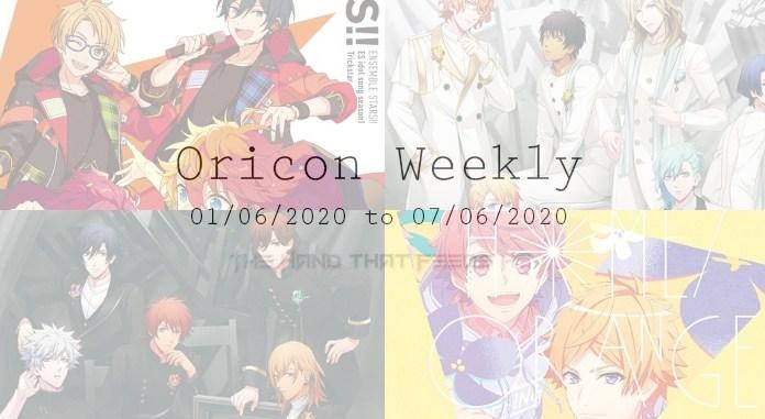 oricon weekly 1st week june 2020