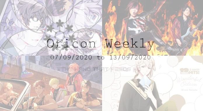 oricon weekly 1st week Sep 2020