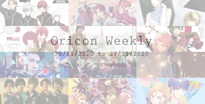 oricon weekly 4th week nov 2020