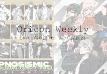 Oricon weekly 3rd week jan 2021