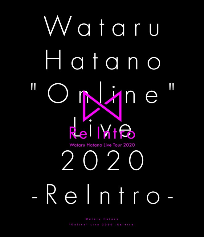 Wataru Hatano Online Live 2020 -ReIntro-  cover