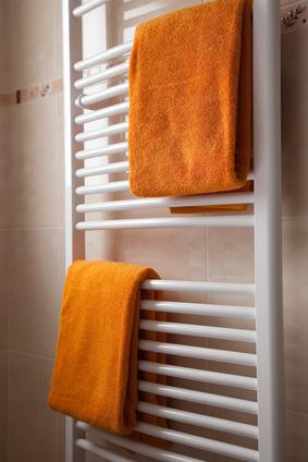 Handtuchheizkrper  Handtuchheizung im Bad