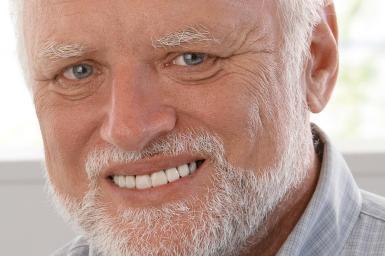 Hide the pain Harold: Elektriker bringt als Meme Millionen zum Lachen