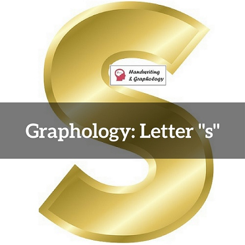 handwriting analysis letter s