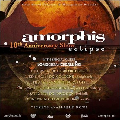 Long Distance Calling und Amorphis