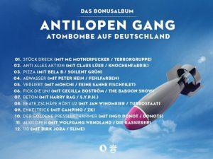 Antilopen-Gang-Atombombe-auf-Deutschland-Tracklist