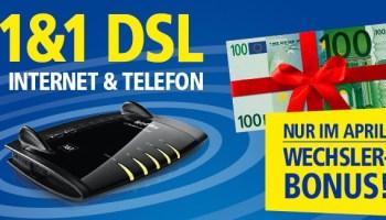 1&1 DSL Wechsler-Bonus