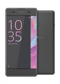 Das Sony Xperia XA in graphit schwarz