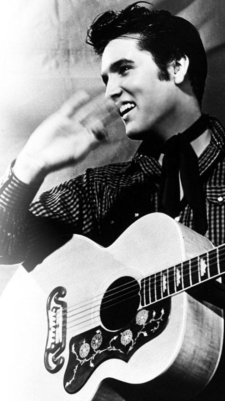 Flash Wallpaper Iphone X Elvis Presley Handy Logo Kostenlos Hintergrundbild Auf
