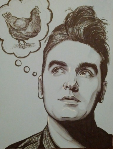 morrissey and the chicken
