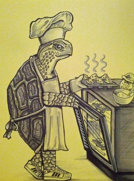 turtle baker