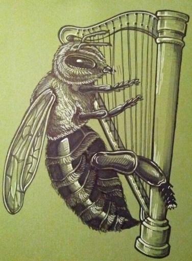 {harp bee} day 59
