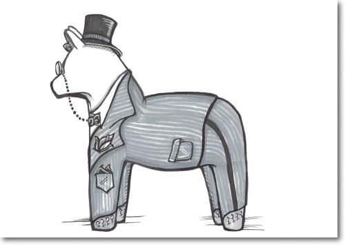 {dala horse} day 164