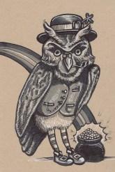 20 - Owl Leprechaun