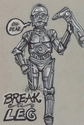 27 - Break a Leg