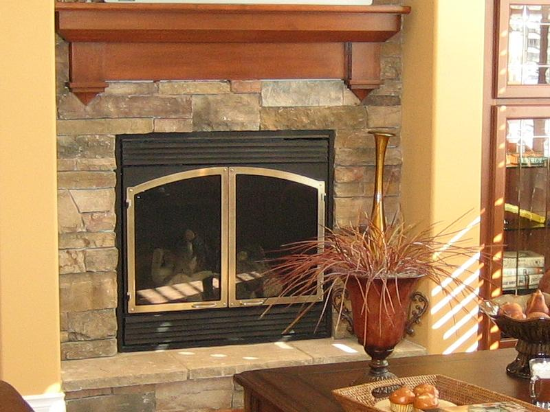 Installing Cabinet Veneer And Fireplace Conversions