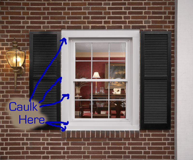 How To Caulk Windows And Where To Caulk Windows