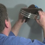 Installing a sconce from Rejuvenation.com