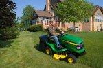 The John Deere Lawn Tractor