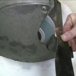 Sharpening your mower blade