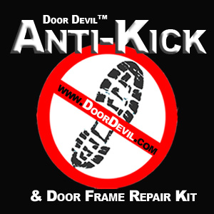 Door Devil Anti-Kick and Door Frame Repair Kit