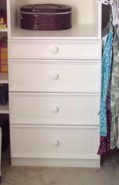 DIY Build Closet Drawers