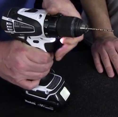 Operate a drill