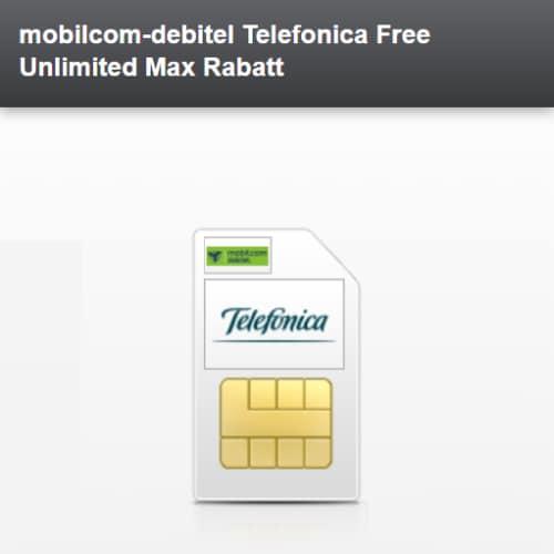 mobilcom-debitel Free Unlimited Basix/Max ab 19.99 € im Monat