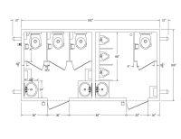 A Simple Bathroom Stall Dimension - Handy Home Design ...