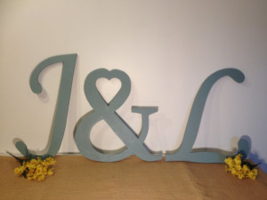 Large Letters for Wall Decorative