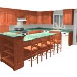 Multi-Level Kitchen Island Design Ideas