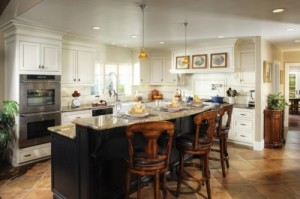 2 Level Kitchen Islands Ideas