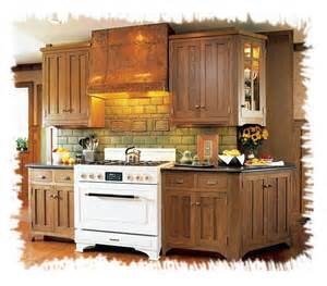 Arts and Craft Style Kitchen