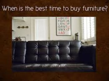 When is the best time to buy furniture