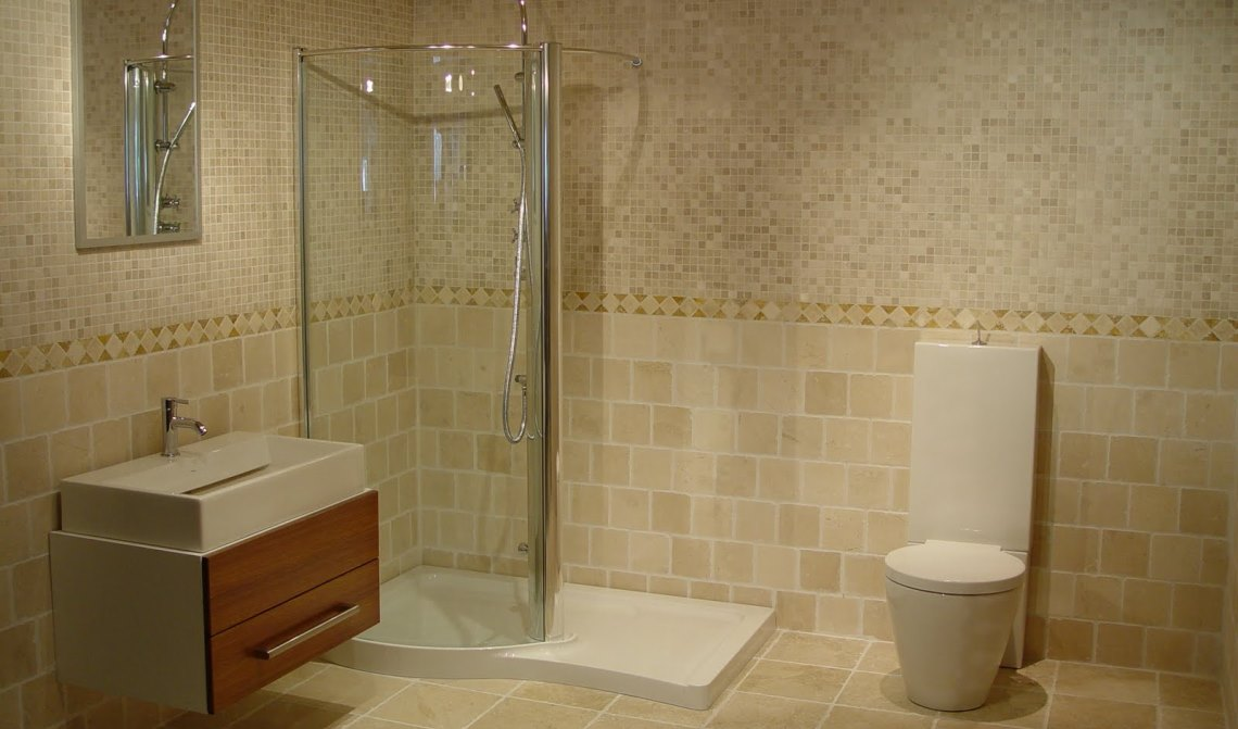 Replace Bathroom Drywall With Tiled Walls Fix It Handyman