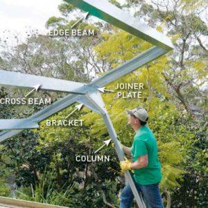 How To Build A Diy Carport Australian Handyman Magazine