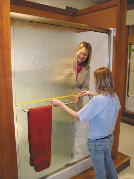 Showroom Shower Doors