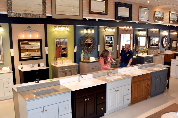 Showroom Vanities and Custom Onyx Tops
