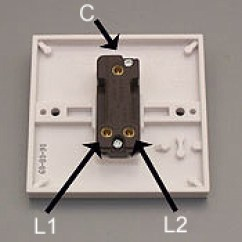 One Way Switch Wiring Diagram Uk For A Dimmer How To Replace Light Made Easy An Intermediate Is Used Switching From 3 Or More Locations In Conjunction With Two Switches
