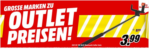 Selfie-Stick im Media-Markt Outlet für 3,99 €