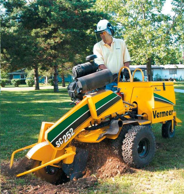 STUMP GRINDER VERMEER SC252 Rentals Cleveland OH Where to