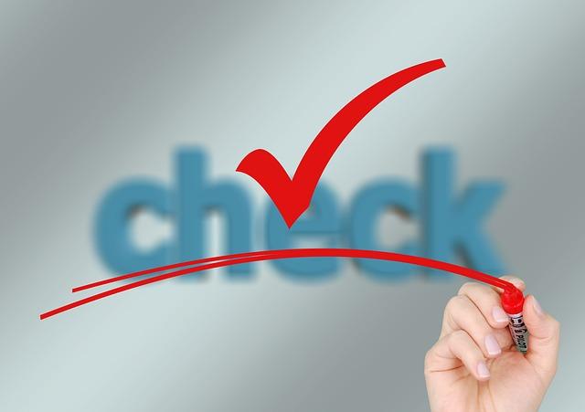 checklist tax