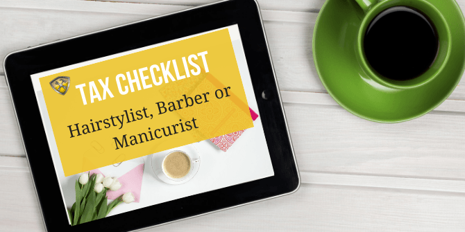 Tax Checklist Stylist