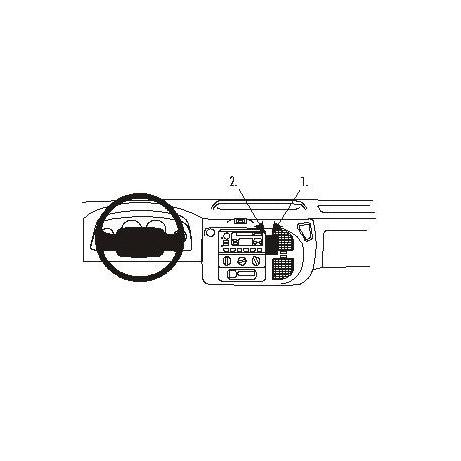 852809 Brodit ProClip für Ford Transit, ab Bj. 2000 bis