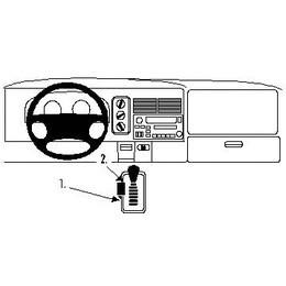 832546 Brodit ProClip für Dodge RAM Pickup 1500, ab Bj