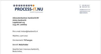 Gepersonaliseerd Word-document of PDF-bijlage