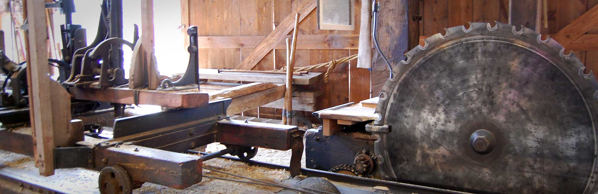 Hanford Mills  The Hanford Mills Museum features an authentic water and steampowered sawmill