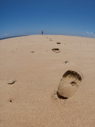 Leave Just Footprints