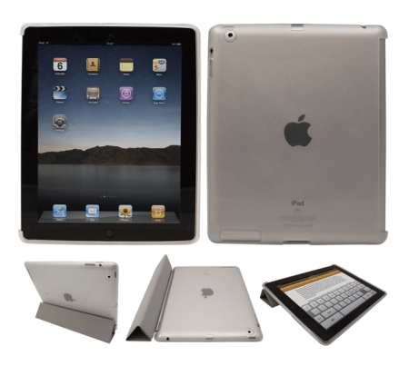 LucMac Clear iPad Back Cover