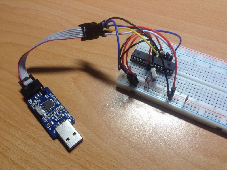 Making a custom arduino and how to program it hangar